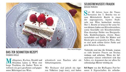 Rezept 7er Schnitte, Beilage der Standard, im7ten.com, Barbaras Küche