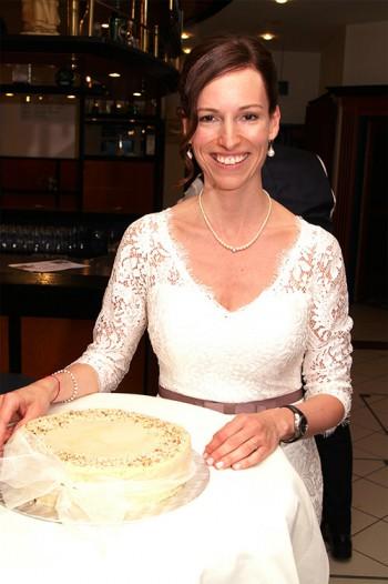 Die Torte der Braut
