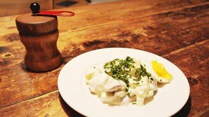 Rezept Heringssalat mit Blitzmayonnaise