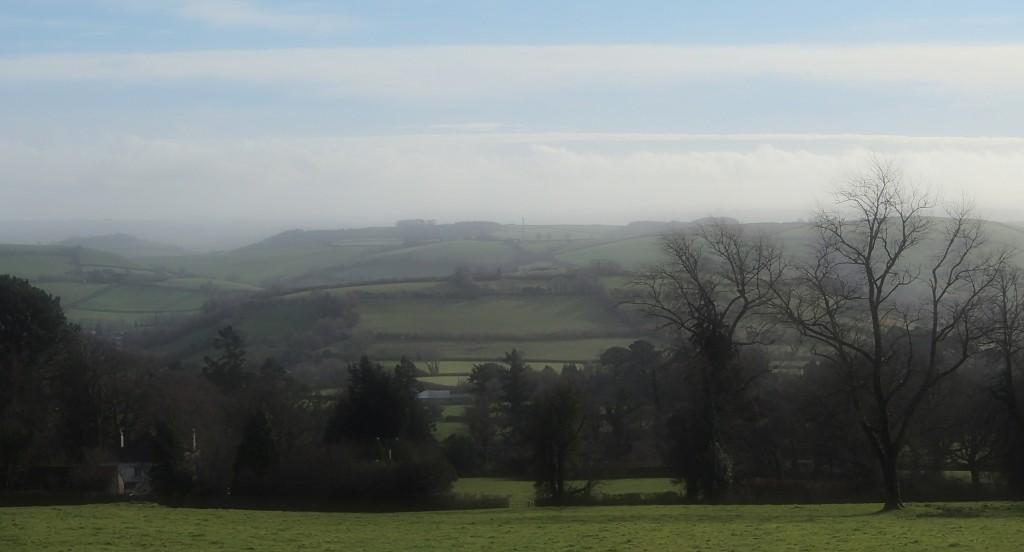 endlos hügelige Landschaft um Ashburton