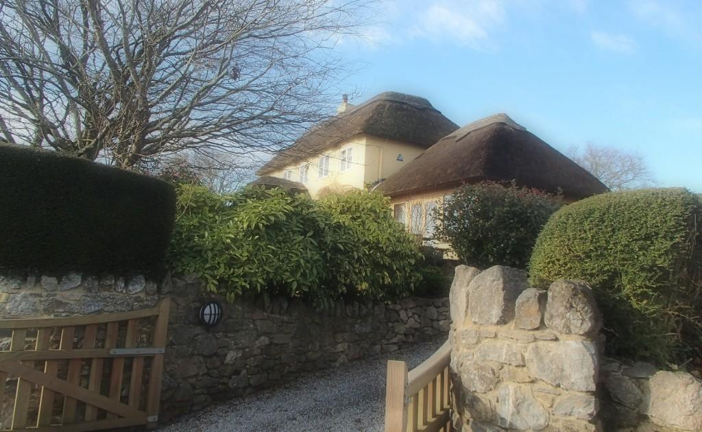 strohgedecktes Haus in der Nähe von Ashburton